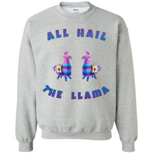 Fortnite All Hall The Llama Sweatshirt amazon best seller