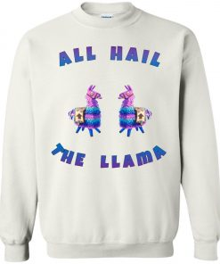 Fortnite All Hall The Llama Sweatshirt