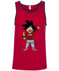 Supreme Goku Bape Tank Top amazon best seller