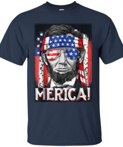 4th of July Lincoln Merica Classic T-Shirt
