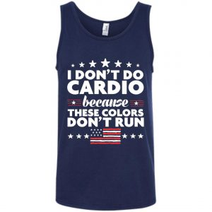 4th of July I Don't Do Cardio Tank Top