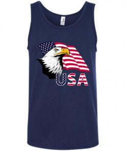 4th of July Eagle Flag Tank Top