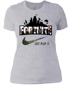 Nike Fortnite Just Play It Women's T-Shirt amazon best seller