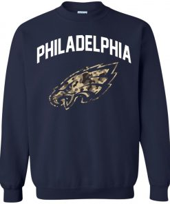 Philadelphia Eagles Camo Logo Sweatshirt