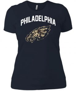 Philadelphia Eagles Camo Logo Women's T-Shirt