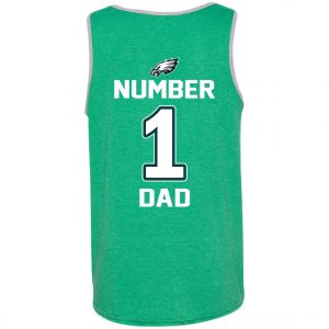 Philadelphia Eagles Number One Dad Tank Top
