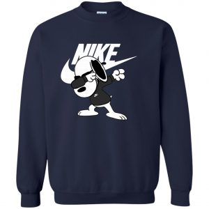 Nike Snoopyy Dog Dabbing Sweatshirt