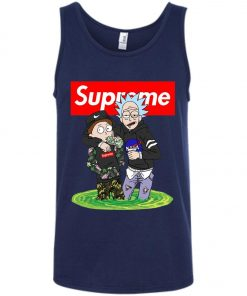 Supreme Rick And Morty Bape Tank Top