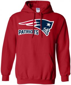 Patriots New England Football Logo Hoodie