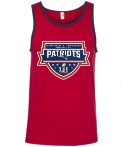Patriots New England Superbowl LI Champions Tank Top