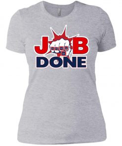 Patriots New England Job Done Women's T-Shirt amazon best seller