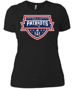 Patriots New England Superbowl LI Champions Women's T-Shirt