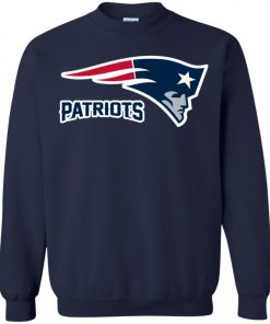Patriots New England Football Logo Sweatshirt