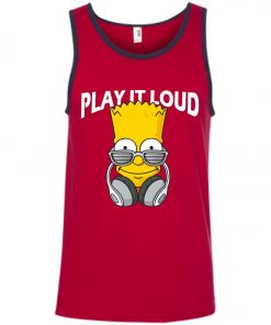 Bart Simpson Play It Loud Tank Top