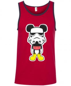 Disney Mickey Starwar Darth Trooper Tank Top