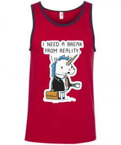 Unicorn Need A Break Tank Top