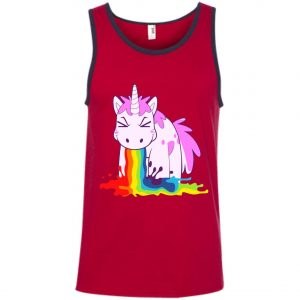 Unicorn 'I Puke Rainbowl Tank Top