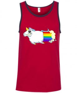 Unicorn Farts Rainbowl Tank Top
