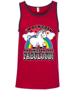 Unicorn Are Fabulous Tank Top