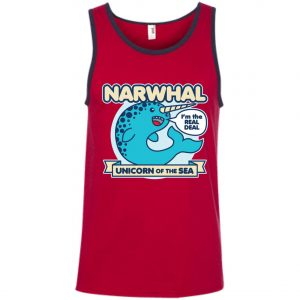 Narwhal Unicorn Of The Sea Tank Top