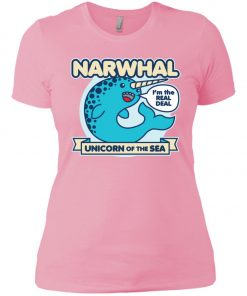 Narwhal Unicorn Of The Sea Women's T-Shirt