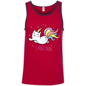 I'm A Caticorn Unicorn Cat Tank Top