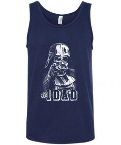 Starwar One Darth Vader #1 Dad Tank Top