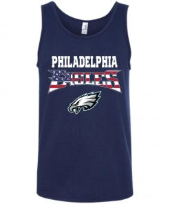Philadelphia Eagles US Independence Day Flag Tank Top