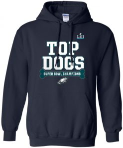 Philadelphia Eagles Top Dogs Super Bowl Champions Hoodie