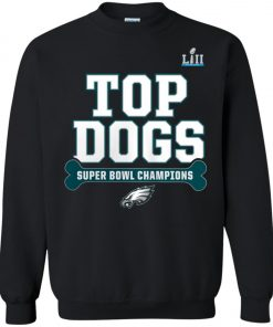 Philadelphia Eagles Top Dogs Super Bowl Champions Sweatshirt amazon best seller