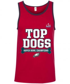 Philadelphia Eagles Top Dogs Super Bowl Champions Tank Top