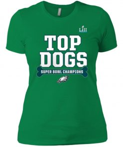 Philadelphia Eagles Top Dogs Super Bowl Champions Women's T-Shirt