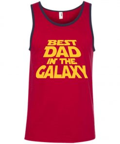 Best Dad In The Galaxy Starwar Tank Top