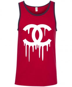 Chanel Logo Liquid Tank Top