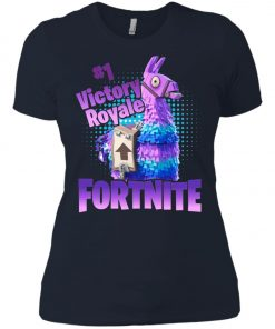 Fortnite Victory Royale Lucky Llama Women's T-Shirt