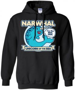 Narwhal Unicorn Of The Sea Hoodie amazon best seller