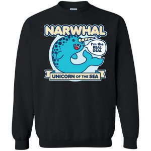 Narwhal Unicorn Of The Sea Sweatshirt amazon best seller