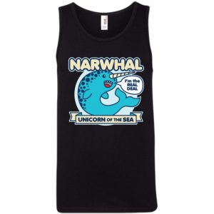 Narwhal Unicorn Of The Sea Tank Top amazon best seller