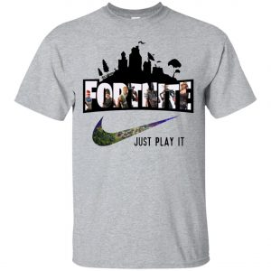 Nike Fortnite Just Play It Classic T-Shirt amazon best seller