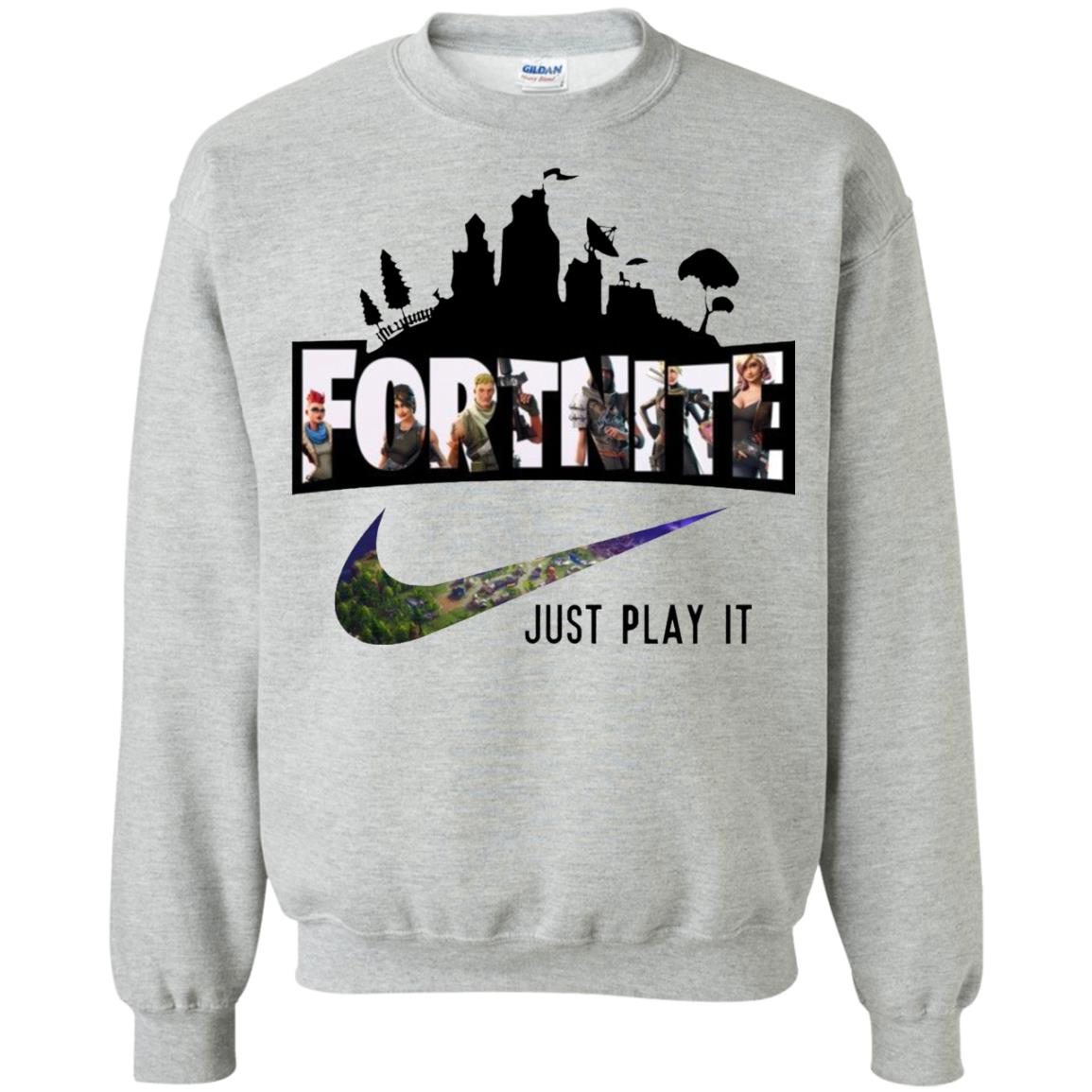 Nike Fortnite Just Play It Sweatshirt Shop Nike X Fortnite