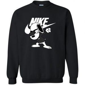 Nike Snoopyy Dog Dabbing Sweatshirt amazon best seller