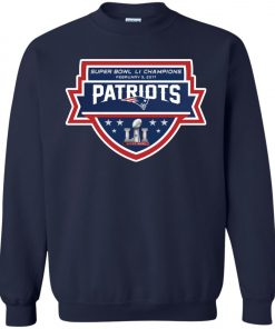 Patriots New England Superbowl LI Champions Sweatshirt amazon best seller