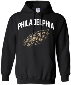 Philadelphia Eagles Camo Logo Hoodie amazon best seller
