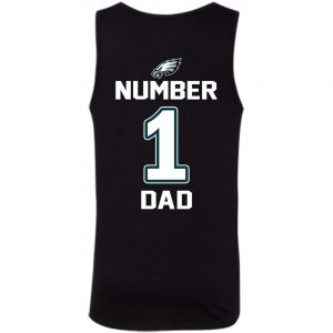 Philadelphia Eagles Number One Dad Tank Top amazon best seller