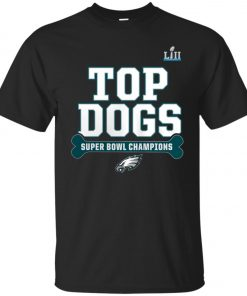 Philadelphia Eagles Top Dogs Super Bowl Champions Classic T-Shirt amazon best seller
