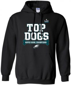 Philadelphia Eagles Top Dogs Super Bowl Champions Hoodie amazon best seller