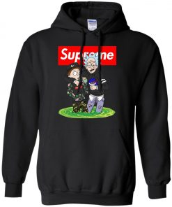Supreme Rick And Morty Bape Hoodie amazon best seller