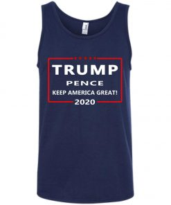 Trump Pence Keep America Great 2020 Tank Top amazon best seller