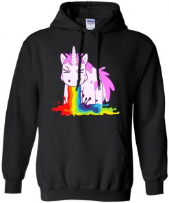 Unicorn 'I Puke Rainbowl Hoodie amazon best seller