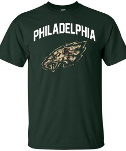 Uploaded ToPhiladelphia Eagles Camo Logo Classic T-Shirt